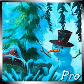 Winter Cartoon Forest Pro