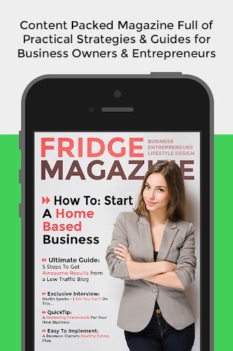 Fridge Magazine - Entrepreneur