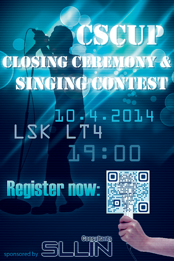 CSCUP Singing Contest 2014