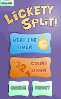 Screenshot of Lickety Split Lite