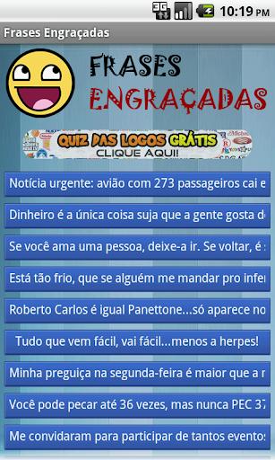 Frases Engrau00e7adas - Hahaha 1.2 screenshots 1