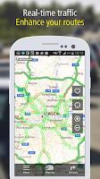 Screenshot of MICHELIN Navigation