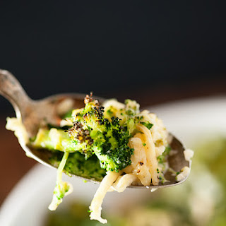 Cheesy Broccoli and Cauliflower