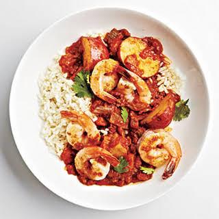 Shrimp Vindaloo.