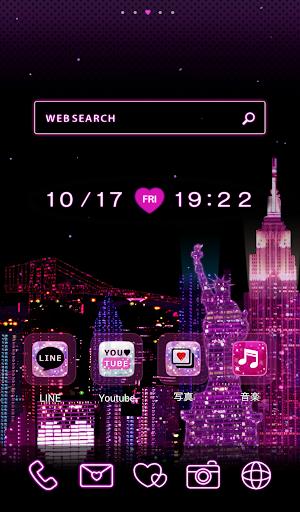 かわいいきせかえ壁紙★I ♥ New York