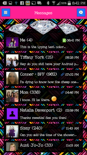 GO SMS - SCS169