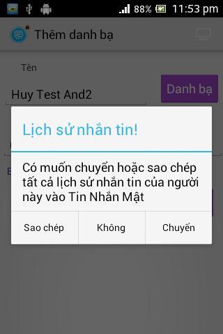 Tin nhắn mật | Tin nhan mat - screenshot