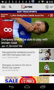 KTRE 9 Local News - screenshot thumbnail