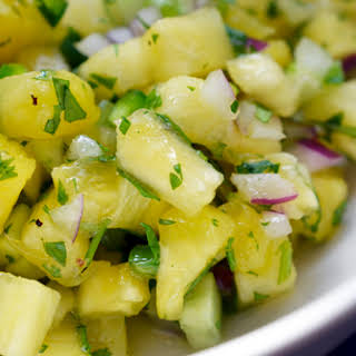 Spicy Pineapple Salsa.