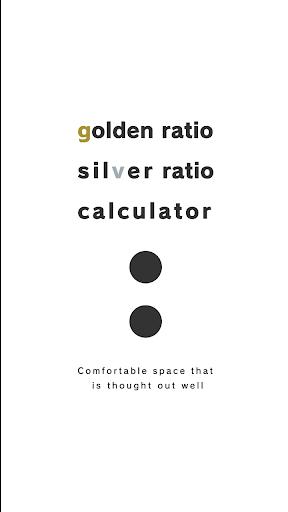 Golden Silver Ratio Calculator