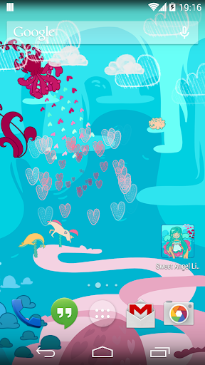 Sweet Angel Live Wallpaper