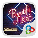 Neon Club GO Launcher Theme icon