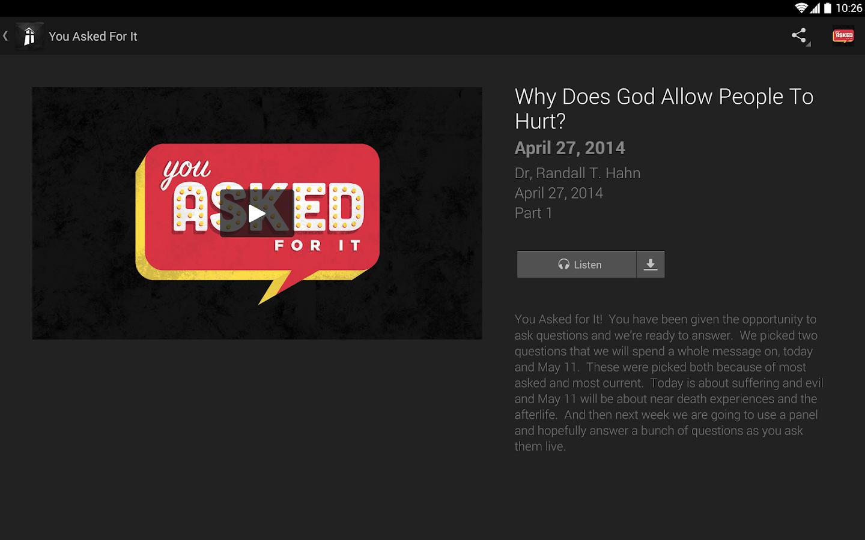 The Heights Baptist Church App - screenshot