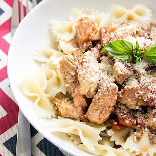 Grilled Chicken Bruschetta Pasta