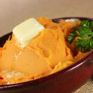 Quick Maple Mashed Sweet Potatoes