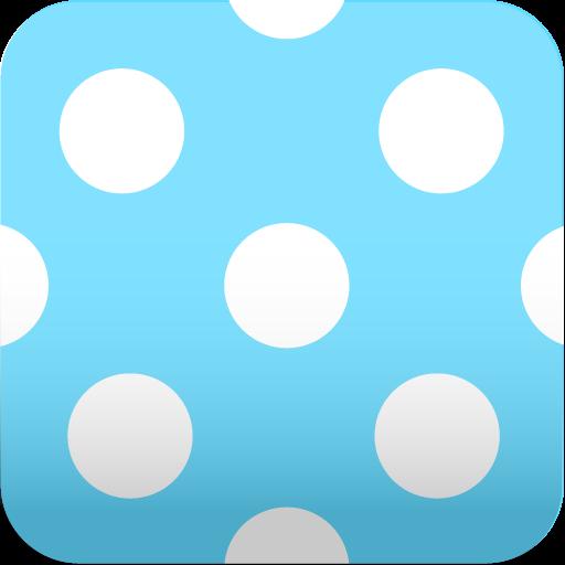 可爱的波尔卡圆点壁纸 個人化 App Store-愛順發玩APP