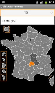 Quiz French Departements - screenshot thumbnail