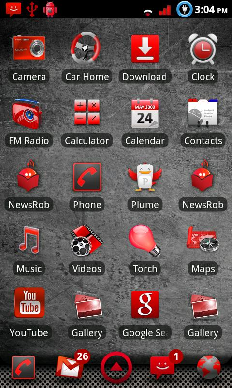 R3Ds CM7 Theme ( Free ) - screenshot