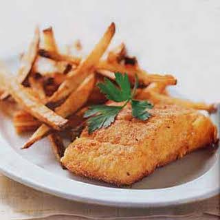 Crispy Oven-Fried Cod.