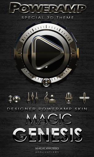 Poweramp skin Genesis