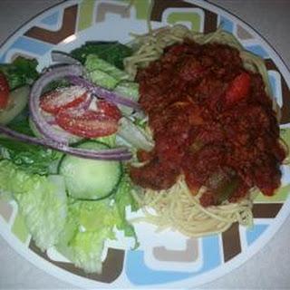 Mom's Sweet Spaghetti Sauce.