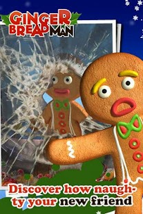 Talking Gingerbread Man Free- screenshot thumbnail