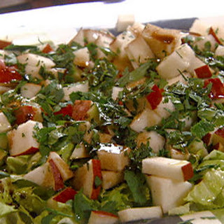 Pear Cucumber Salad with Balsamic and Shaved Romano Cheese Recipe