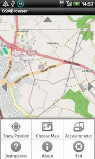 OSM Browser- screenshot thumbnail