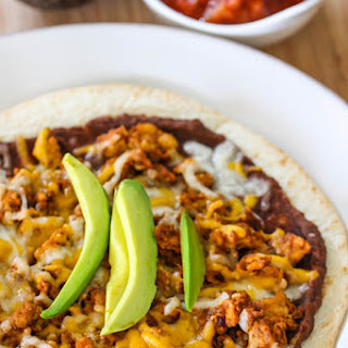 Quick n' Easy Mexican Pizzas.