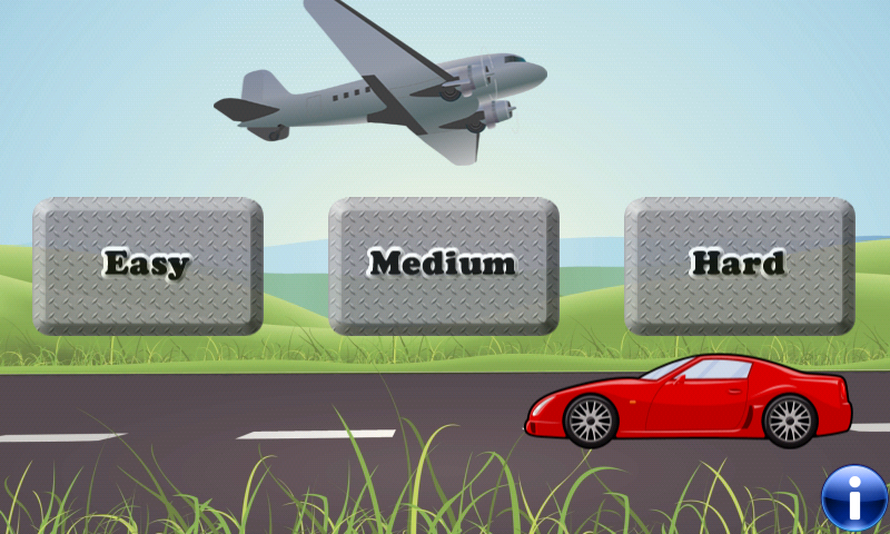 Vehicles Memory Game for Kids! - screenshot