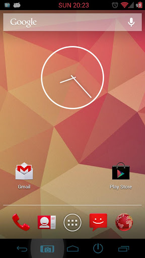 Nexus 4 Jelly Bean clocks - No Flashing required - Android