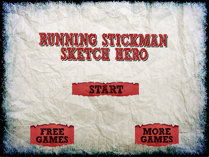 Sketchman Shooting Stickman