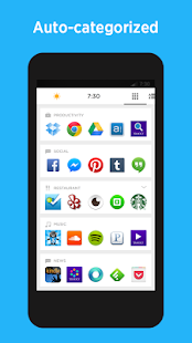 Yahoo Aviate Launcher- screenshot thumbnail