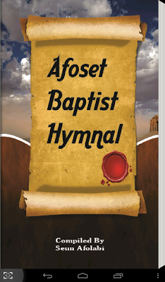 Afoset Baptist English Hymnal - screenshot