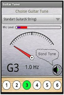Full Guitar Tuner - screenshot thumbnail