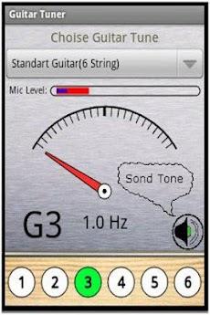 完全なギターチューナーのおすすめ画像1