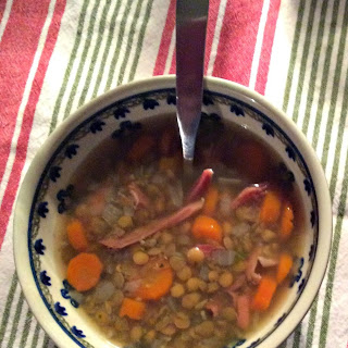 Lentil Soup with Ham