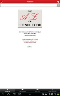 THE A-Z of French Food- screenshot thumbnail