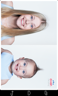 evian baby&me app - reloaded - screenshot thumbnail