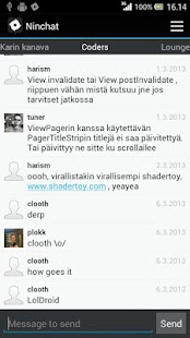 Ninchat - screenshot thumbnail