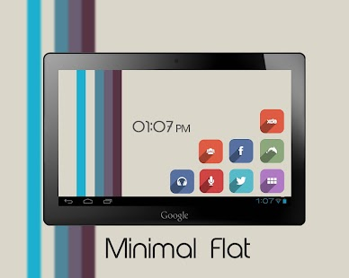 Minimal Flat Icon Pack - screenshot thumbnail