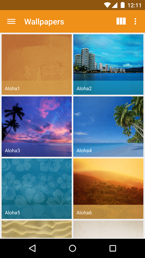 Aloha - Icon Pack - screenshot