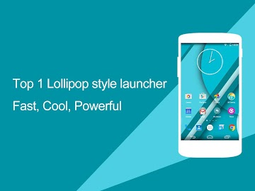 KK Launcher (Lollipop launcher Screenshot 2