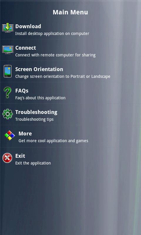 Remote PC Share- screenshot
