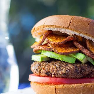 Easy Vegan Black Bean Burgers.