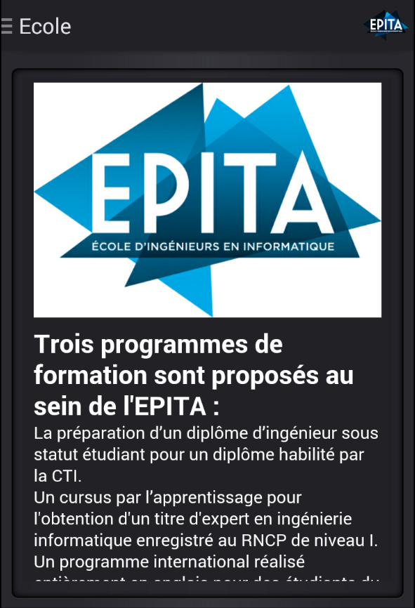 EPITA- screenshot