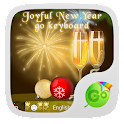 Joyful New Year GO Keyboard icon