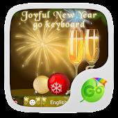Joyful New Year GO Keyboard
