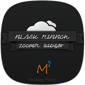 Black Ribbon Zooper Widget