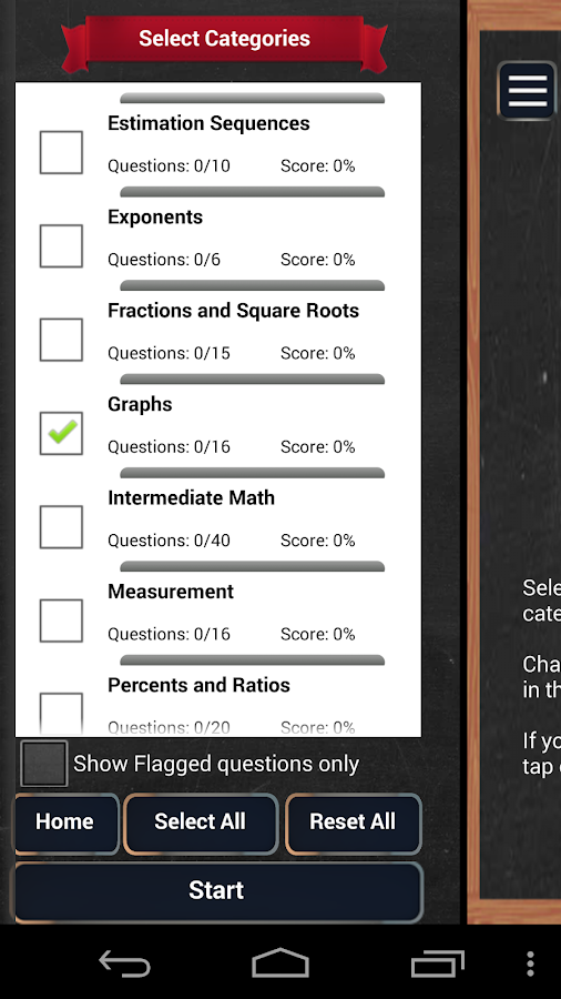 SSAT - Secondary School Test- screenshot